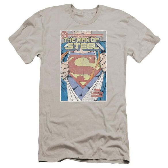 Superman Mos Cover Premuim Canvas Adult Slim Fit