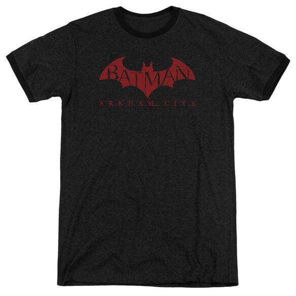 Arkham City Red Bat Adult Heather Ringer