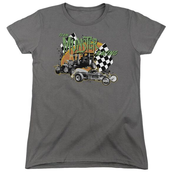 The Munsters Munster Racing Short Sleeve Womens Tee T-Shirt