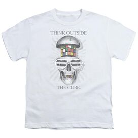 Rubik's Cube Outside The Cube Short Sleeve Youth T-Shirt