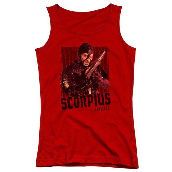Farscape Scorpius Juniors Tank Top