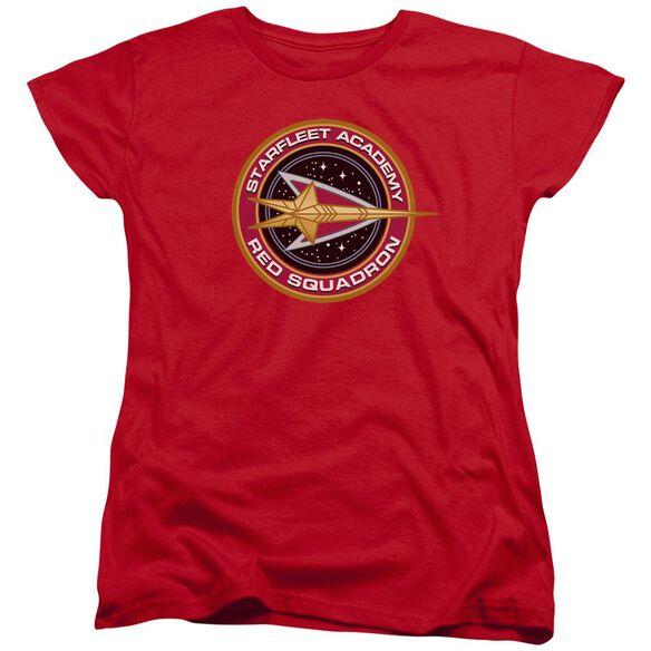 Star Trek Squadron Short Sleeve Womens Tee T-Shirt