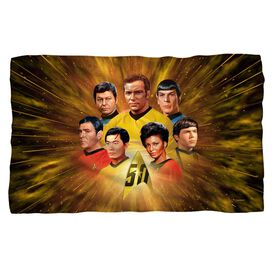 Star Trek 50 Th Crew Fleece Blanket