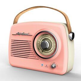 Art + Sound Wireless Vintage Radio [Pink]