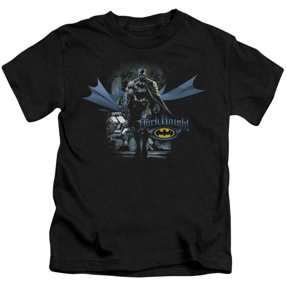 Batman From The Depths Short Sleeve Juvenile Black T-Shirt