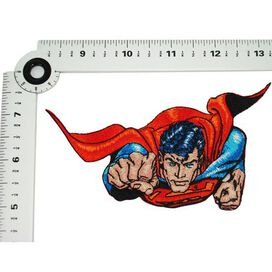 Superman Flying Out Patch