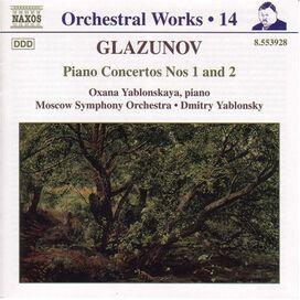 A. Glazunov - Piano Concertos 1 & 2