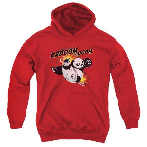 Kung Fu Panda Kaboom Of Doom Youth Pull Over Hoodie