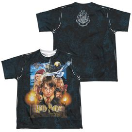 Harry Potter The Beginning (Front Back Print) Short Sleeve Youth Poly Crew T-Shirt