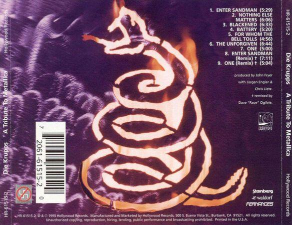 Tribute To Metallica 1094