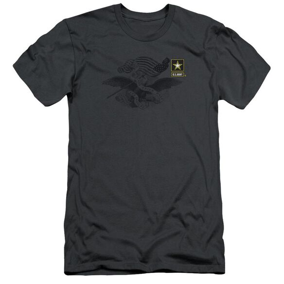 Army Left Chest Short Sleeve Adult T-Shirt