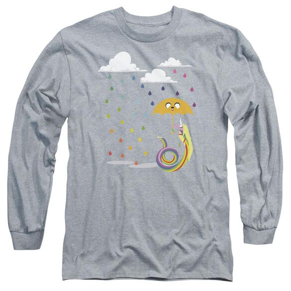 Adventure Time Lady In The Rain Long Sleeve Adult Athletic T-Shirt