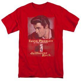 Elvis Jailhouse Rock Poster Short Sleeve Adult T-Shirt