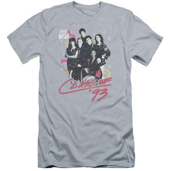 Saved By The Bell Class Of 93 Premuim Canvas Adult Slim Fit Light