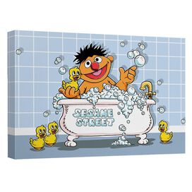 Sesame Street Rubber Ducky Quickpro Artwrap Back Board