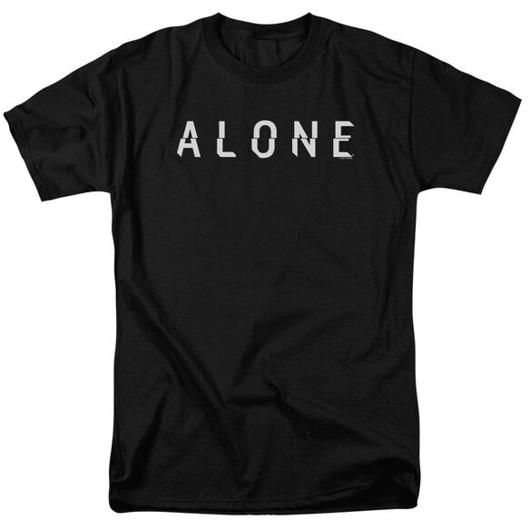 Alone Alone Logo Short Sleeve Adult T-Shirt