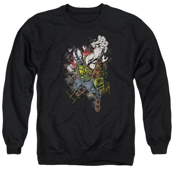 Dark Knight Rises Bane Will Crush Adult Crewneck Sweatshirt