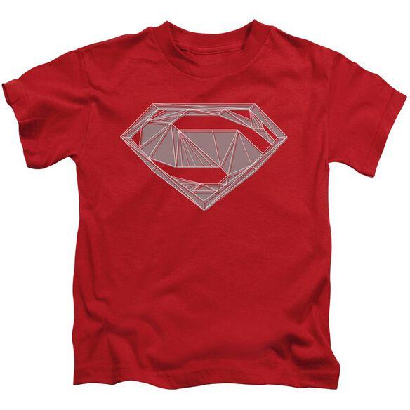 Batman V Superman Techy S Short Sleeve Juvenile T-Shirt