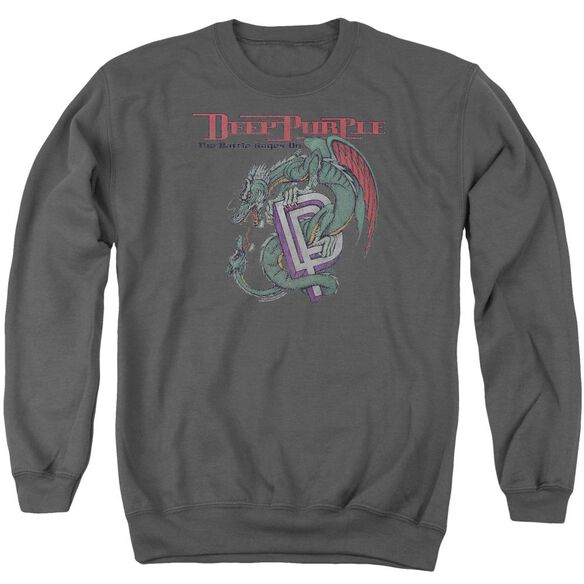 Deep Purple The Battle Rages On Adult Crewneck Sweatshirt