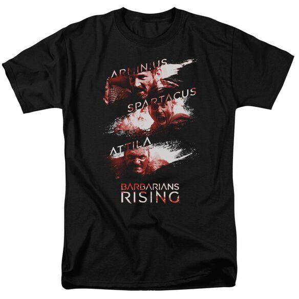 Barbarians Rising Barbarian Splash Short Sleeve Adult T-Shirt