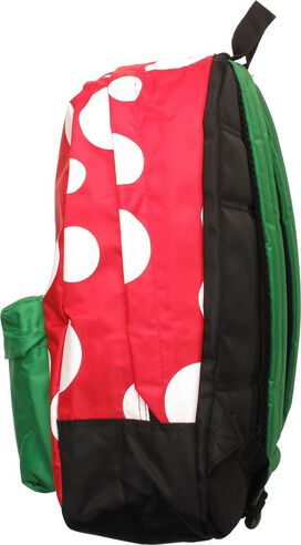 Super Mario Mushroom Piranha Plant Backpack