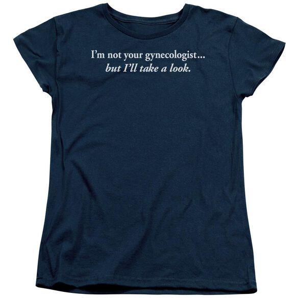 Gynecologist Short Sleeve Womens Tee T-Shirt