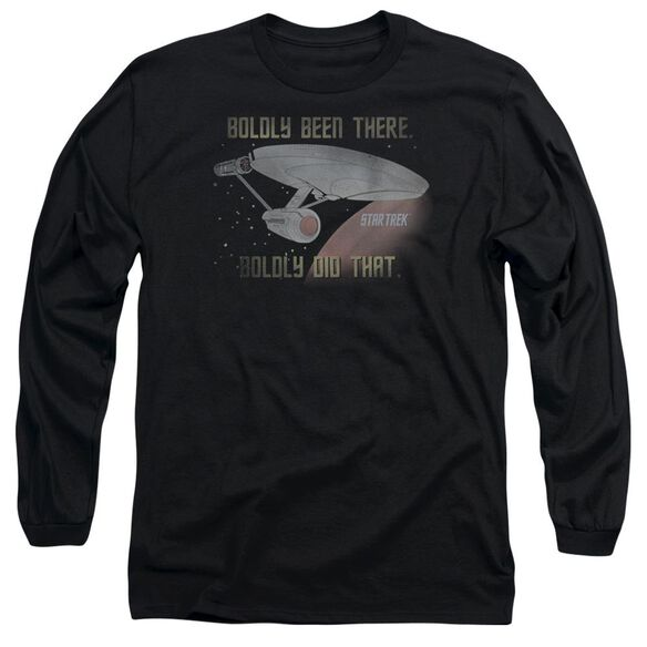 Star Trek Boldly Did That Long Sleeve Adult T-Shirt