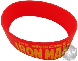 Iron Man Logo Wristband