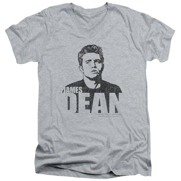 Dean The Dean Short Sleeve Adult V Neck Athletic T-Shirt