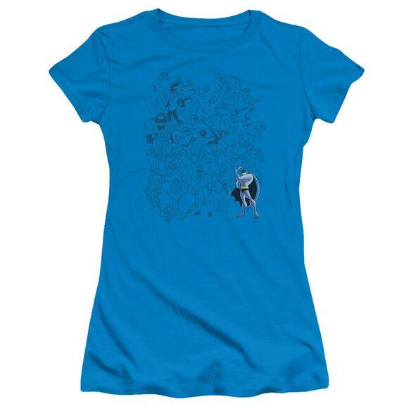 Batman Bb Batman Standout Short Sleeve Junior Sheer T-Shirt