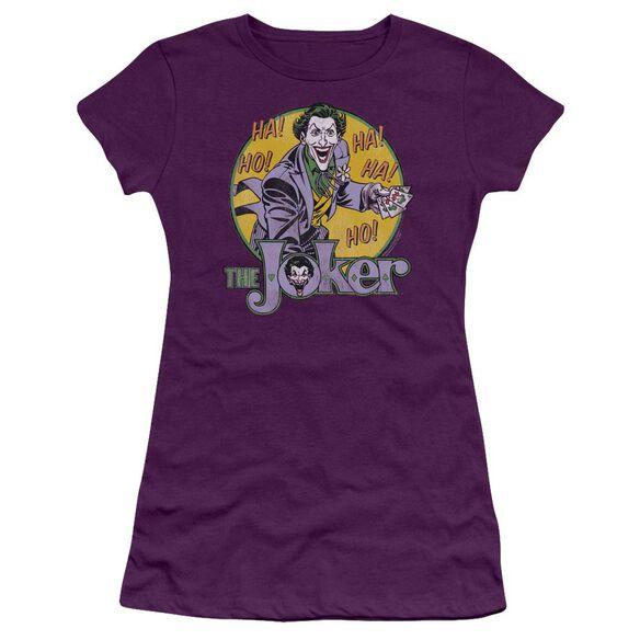Dc The Joker Premium Bella Junior Sheer Jersey