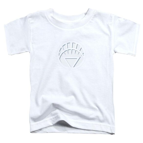 Green Lantern White Lantern Logo Short Sleeve Toddler Tee White Sm T-Shirt