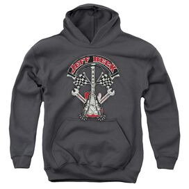 Jeff Beck Beckabilly Guitar Youth Pull Over Hoodie