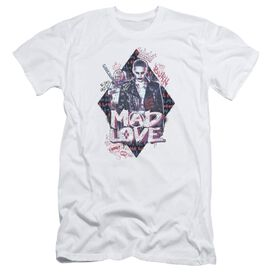 Suicide Squad Mad Love Short Sleeve Adult T-Shirt