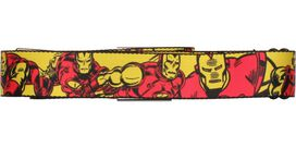 Iron Man Classic Character Wrap Seatbelt Mesh Belt