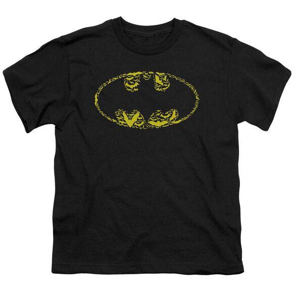 Batman Bats On Bats Short Sleeve Youth T-Shirt