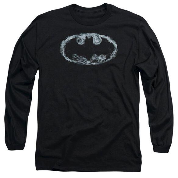 Batman Smoke Signal Long Sleeve Adult T-Shirt