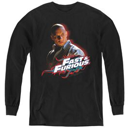 Fast And The Furious Toretto - Youth Long Sleeve Tee - Black - Xl