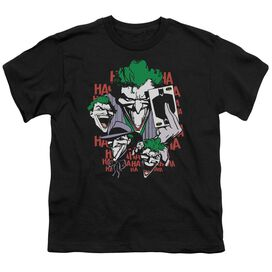 DC FOUR OF A KIND - S/S YOUTH 18/1 - BLACK T-Shirt