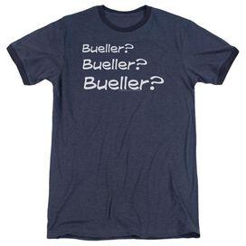 Ferris Bueller Bueller? Adult Heather Ringer Navy
