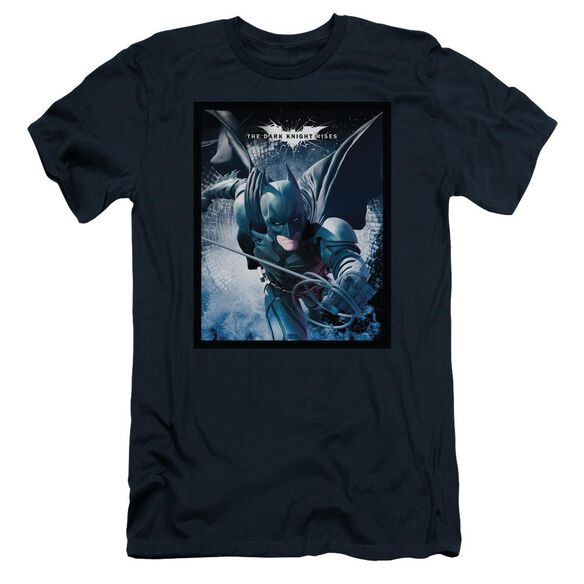 Dark Knight Rises Swing Into Action Short Sleeve Adult T-Shirt
