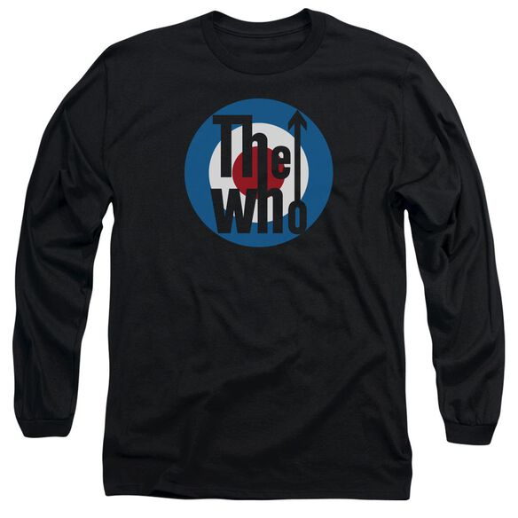 The Who Logo Long Sleeve Adult T-Shirt