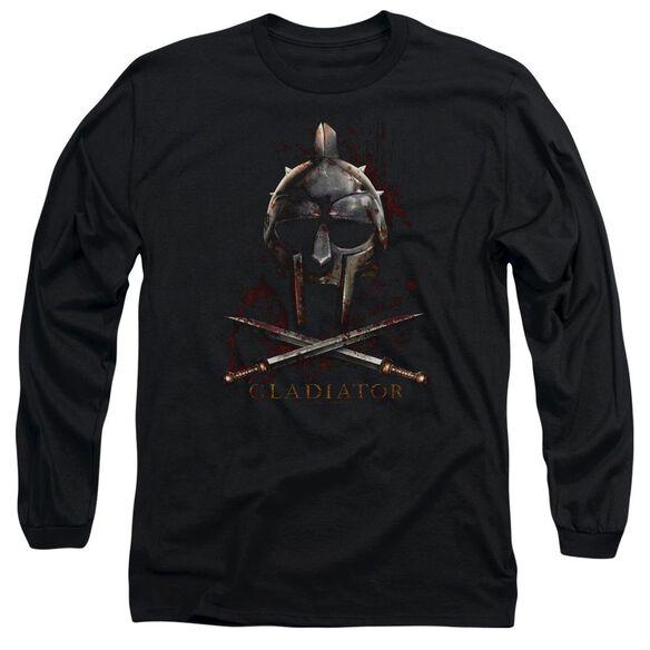 Gladiator Helmet Long Sleeve Adult T-Shirt