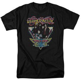 Aerosmith Triangle Stars Short Sleeve Adult T-Shirt