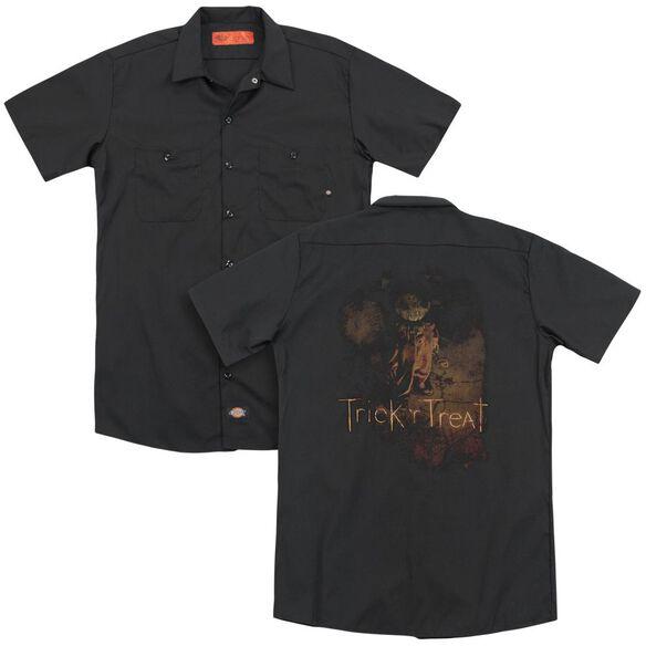 Trick R Treat Movie Poster (Back Print) Adult Work Shirt