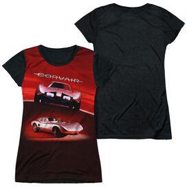 Chevrolet Silver Bullet Short Sleeve Junior Poly Black Back T-Shirt