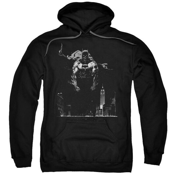 Batman Dirty City Adult Pull Over Hoodie