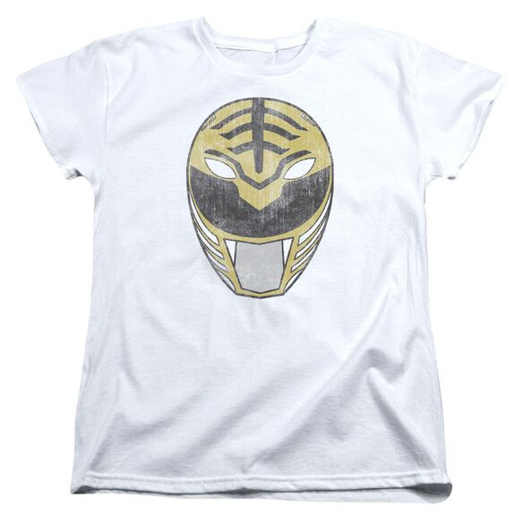 Power Rangers Ranger Mask Short Sleeve Womens Tee T-Shirt
