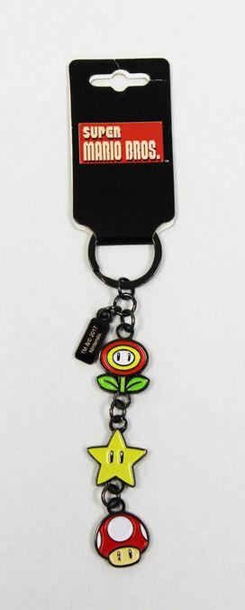 Super Mario Brothers Charm Keychain