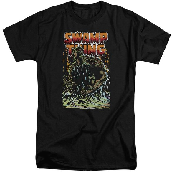 Jla Swamp Thing Short Sleeve Adult Tall T-Shirt